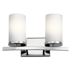 Kichler Lighting Crosby Chrome Bathroom Light