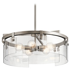 Modern Chandelier Pewter Tiers by Kichler Lighting