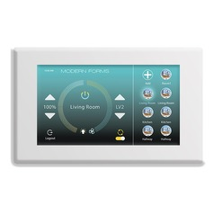 Modern Forms Smart Fan WiFi Touch Control in White