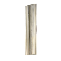 Modern Sconce Wall Light in Polished Nickel Finish