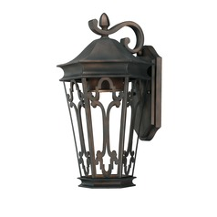 Capital Lighting Dark Sky Old Bronze Outdoor Wall Light