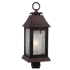 Feiss Lighting Shepherd Heritage Copper Post Light