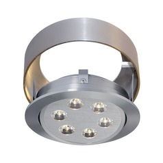 Alico Lighting Tiro Brushed Aluminum Recessed Accessory