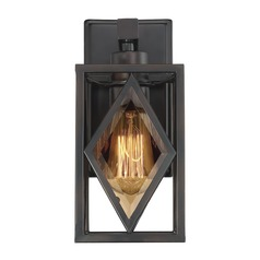 Art Deco Sconce Bronze Putman by Savoy House