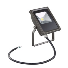 LED Flood Light Bronze 10-Watt 120v-277v 910 Lumens 4000K 110 Degree Beam Spread
