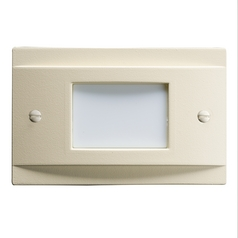 Kichler Lighting Kichler Lighting Step and Hall Light Almond LED Recessed Step Light 12665ALM