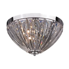 Clear Acrylic Semi Flush
