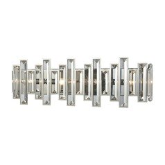 Elk Lighting Crystal Heights Polished Chrome Bathroom Light