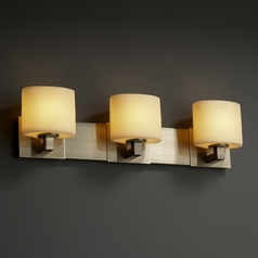 Justice Design Group Candlearia Collection Bathroom Light