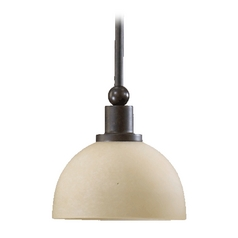 Quorum Lighting Lone Star Toasted Sienna Mini-Pendant Light