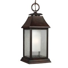 Feiss Lighting Shepherd Heritage Copper Outdoor Hanging Light