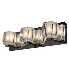 Access Lighting Evia Chrome Bathroom Light