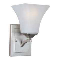Maxim Lighting Aurora Ee Satin Nickel Sconce