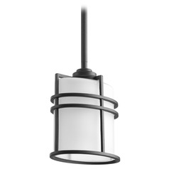 Progress Lighting Format Black Outdoor Hanging Light
