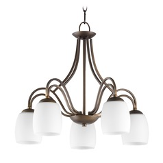Quorum Lighting Willingham Oiled Bronze Chandelier