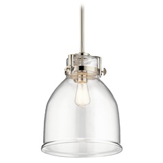 Industrial Pendant Light Polished Nickel Briar by Kichler Lighting