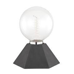 Mitzi Lynn Graphite Table Lamp