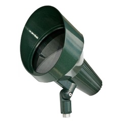 Green Cast Aluminum Directional Spot Light with Hood