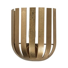 Gold Leaf Olympia Wall Sconce
