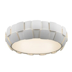 Access Lighting Layers White Flushmount Light