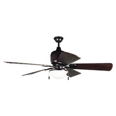 Craftmade Lighting Kona Bay Oiled Bronze Ceiling Fan with Light