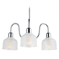 Maxim Lighting Hollow Polished Chrome Chandelier