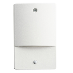 Kichler Lighting Kichler Lighting Step and Hall Light White LED Recessed Step Light 12666WH