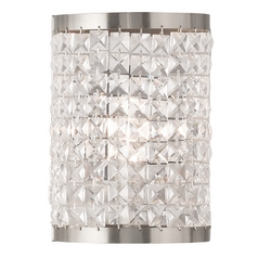 Livex Lighting Grammercy Brushed Nickel Sconce