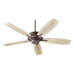 Quorum Lighting Soho Oiled Bronze Ceiling Fan Without Light