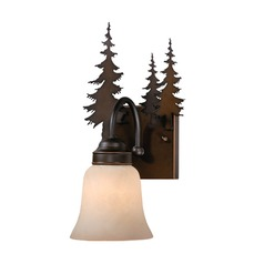 Yosemite Burnished Bronze Sconce by Vaxcel Lighting