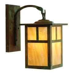 10-3/8-Inch Outdoor Wall Light