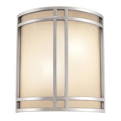 Access Lighting Artemis Satin Nickel Sconce