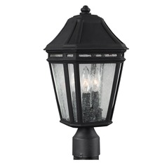 Feiss Lighting Londontowne Black Post Light