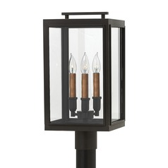 Oil Rubbed Bronze LED Post Light by Hinkley Lighting