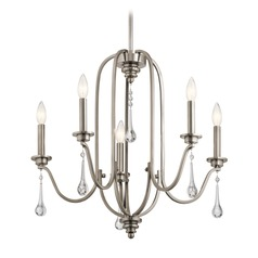 Traditional Chandelier Pewter Karlee by Kichler Lighting