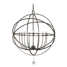 Chandelier in English Bronze Finish