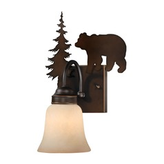 Bozeman Burnished Bronze Sconce by Vaxcel Lighting