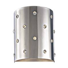 Modern Sconce Wall Light in Chrome Finish
