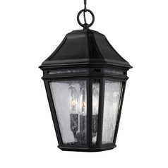 Feiss Lighting Londontowne Black Outdoor Hanging Light