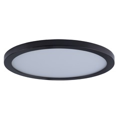 Maxim Lighting Wafer Bronze LED Flushmount / Wall Light - 90-Watt Equivalent