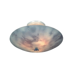 Butterfly Semi-Flush Ceiling Light