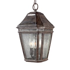 Feiss Lighting Londontowne Weathered Chestnut Outdoor Hanging Light
