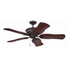 Craftmade Lighting Monaghan Oiled Bronze Gilded Ceiling Fan Without Light