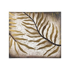 Organic Wall Art Gold Anatolia by Sterling Lighting
