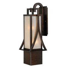 Osaka Venetian Bronze Outdoor Wall Light by Vaxcel Lighting