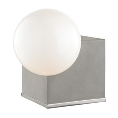 Mitzi Gigi Polished Nickel LED Table Lamp with Globe Shade
