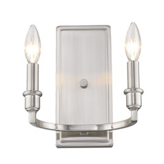 Golden Lighting Ellyn Pewter Sconce