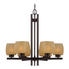 Lite Source Lighting Solo Dark Bronze Chandelier