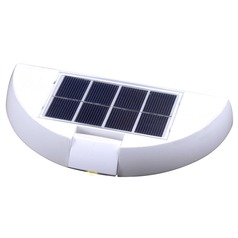 Kenroy Home Lighting Seriously Solar Black LED Solar Light