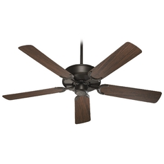 Quorum Lighting All-Weather Allure Oiled Bronze Ceiling Fan Without Light